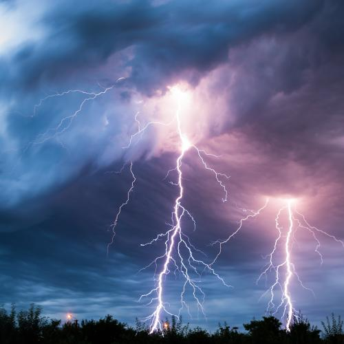 Dry Storms On The Radar For QLD