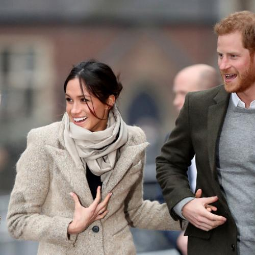 Prince Harry And Meghan Markle Wows Crowd In Sussex