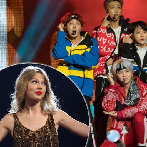 Boy Band Bts Breaks Taylor Swift Record