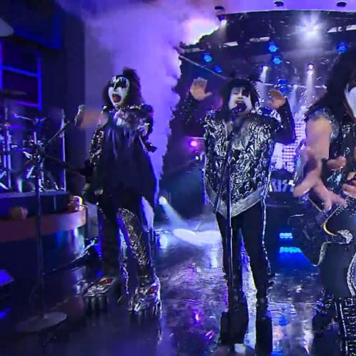 James Corden Just Can't 'Rock n Roll All Nite'