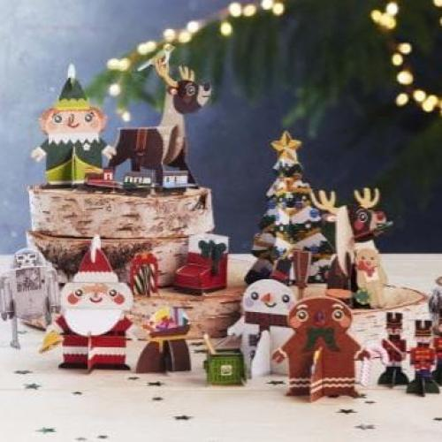 Woolies Christmas Minis Claps Back At Coles' 'Little Shop'