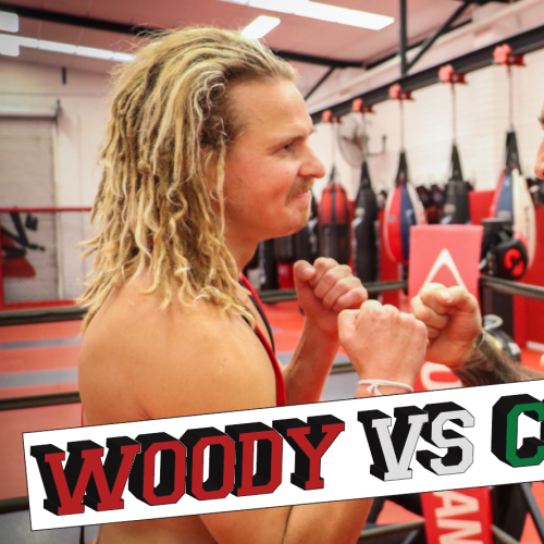 Commando Steve & Woody Had A Wrestle For The Ages!