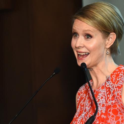 Cynthia Nixon Reveals Her Oldest Son Is Trangender