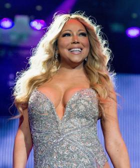 Mariah Carey Takes Part In Bottle Cap Challenge!
