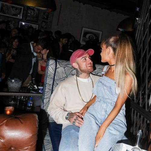Ariana Grande's Public Tribute To Mac Miller