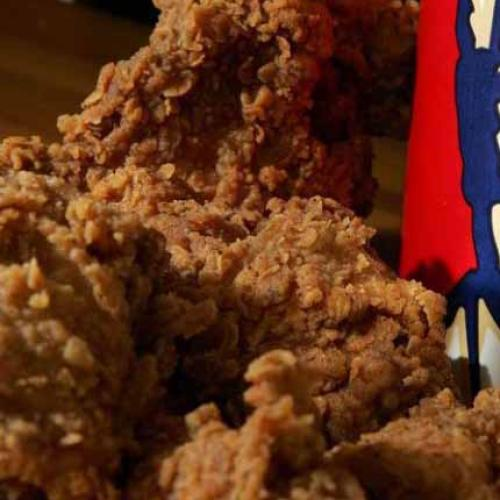 Kfc Made A Fried Chicken-Scented Firelog