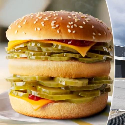 McDonald's Launches The McPickle With A Cruel Twist