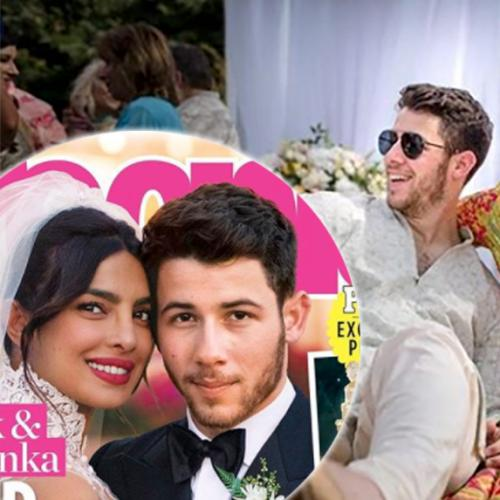 Your First Look At Priyanka Chopra's Wedding Gowns