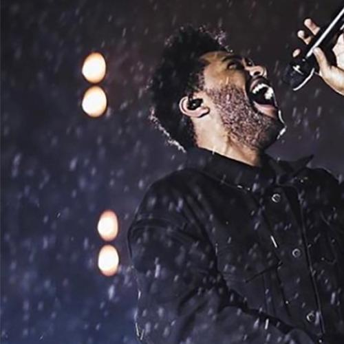 The Weeknd Almost Hit By Falling Equipment During Concert