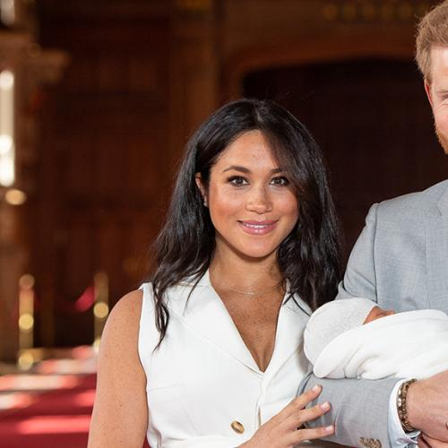 New Photo Of Baby Archie And Prince Harry Released