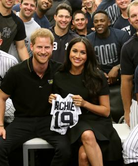 Meghan Markle Makes Surprise Appearance With Prince Harry At Baseball Game