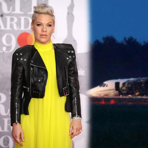 P!nk's Tour Plane Carrying Her Crew Has Reportedly Crash Landed In Denmark
