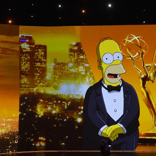 71st Primetime Emmy Awards Open With Homer Simpson!