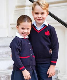 Photos Of Princess Charlotte Heading To Her First Day Of School