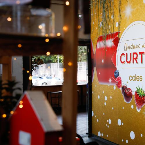 Coles Unveils a Magical Christmas With a Touch of Glass