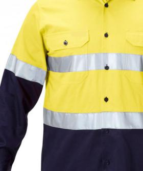 First Reported Case Of Tradie Copping Burns From High-Vis Shirt