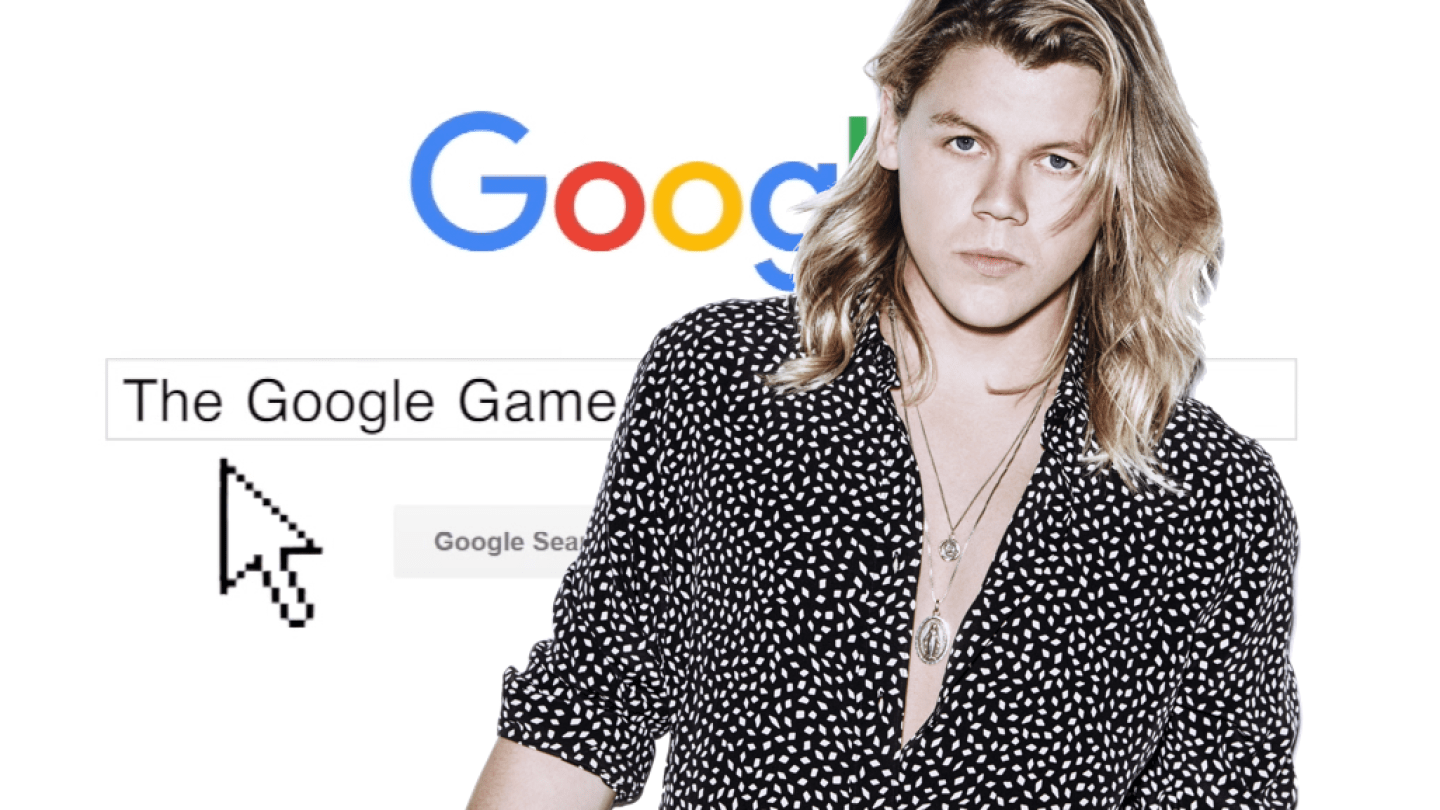 The Google Game... with Conrad Sewell!