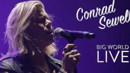 Conrad Sewell Performs Big World LIVE!