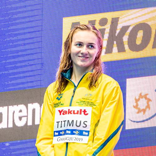 Ariarne Titmus Named Australia's Swimmer of the Year