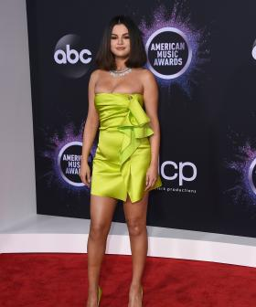 http://Selena%20Gomez%20arrives%20at%20the%20American%20Music%20Awards%20on%20Sunday,%20Nov.%2024,%202019,%20at%20the%20Microsoft%20Theater%20in%20Los%20Angeles.%20(Photo%20by%20Jordan%20Strauss/Invision/AP)