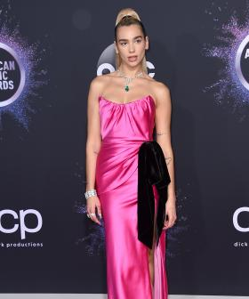 http://Dua%20Lipa%20arrives%20at%20the%20American%20Music%20Awards%20on%20Sunday,%20Nov.%2024,%202019,%20at%20the%20Microsoft%20Theater%20in%20Los%20Angeles.%20(Photo%20by%20Jordan%20Strauss/Invision/AP)