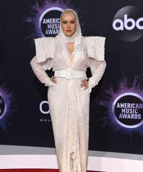 http://Christina%20Aguilera%20arrives%20at%20the%20American%20Music%20Awards%20on%20Sunday,%20Nov.%2024,%202019,%20at%20the%20Microsoft%20Theater%20in%20Los%20Angeles.%20(Photo%20by%20Jordan%20Strauss/Invision/AP)