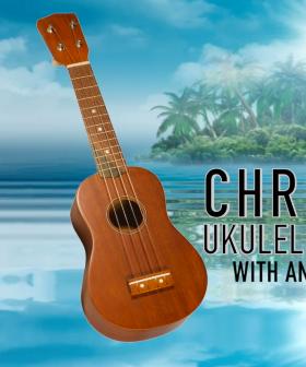 Christmas Ukulele Challenge with Anthony Callea!