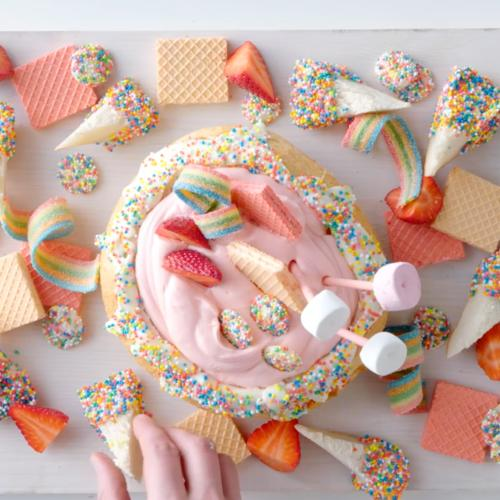 This Fairy Bread Cob Loaf Is The Stuff Of Actual Sweet Dreams