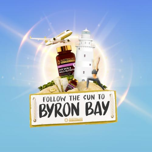 Win A Byron Bay Getaway Thanks To Australian NaturalCare!