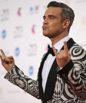 Umm, So Robbie Williams Just Topped The Aussie Charts Again