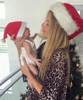 Jennifer Hawkins Shares Adorable Christmas Photos Of Her Baby Girl Frankie Violet