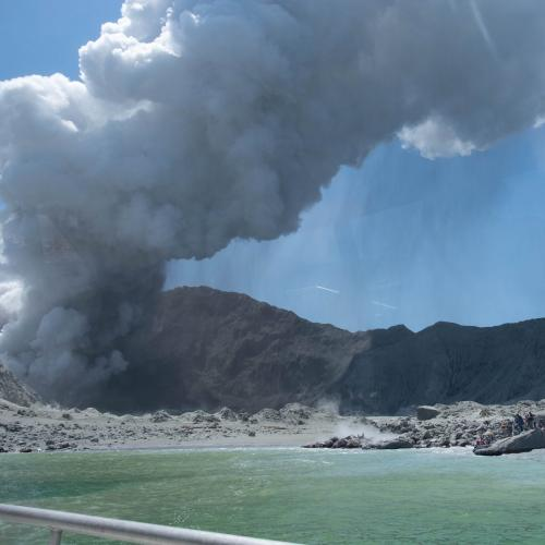 Up To Three Australians Have Been Killed In The New Zealand Volcano Eruption