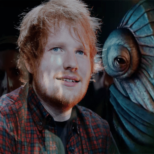 So, It Was Actually Ed Sheeran – That Alien Creature in The Rise of Skywalker!