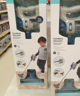 Kmart Are Now Selling Vacuums For Kids That Actually Pick Up Dirt