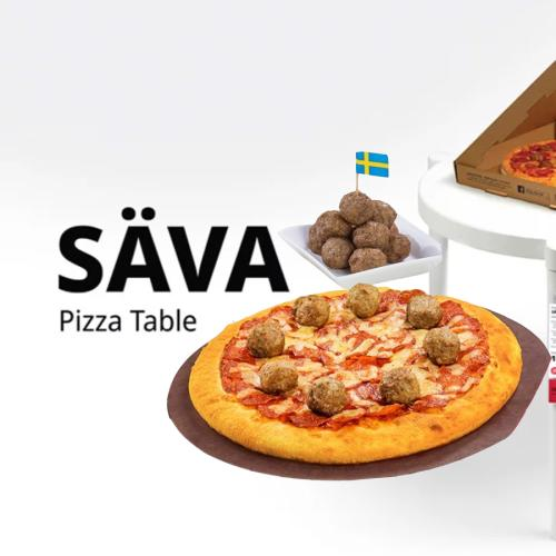 Pizza Hut & IKEA Have Come Together For the Ultimate Collaboration!