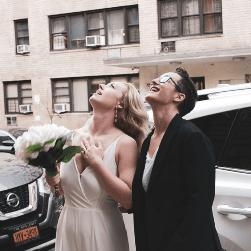 The Start Of The 'Socially Distanced' Wedding Trend Is Here!