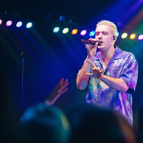 All The Pics From Lauv's iHeartRadio Album Release Party