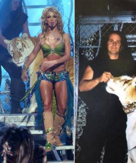 Tiger King's Doc Antle Was In A BRITNEY SPEARS VMA Performance