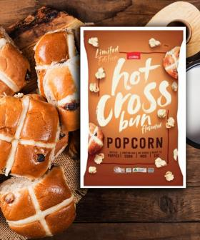 You Can Now Get Hot Cross Bun Popcorn And It's Cheap As Chips!