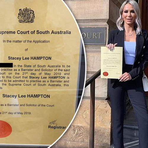 MAFS' Stacey Hampton Reveals The Truth About Her Law Degree