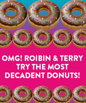 OMG! Robin & Terry Try The Most Decadent DONUTS Ever! 🍩