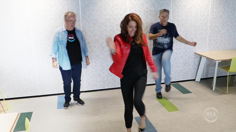 WATCH: Robin, Terry & Bob Practice The Nutbush!