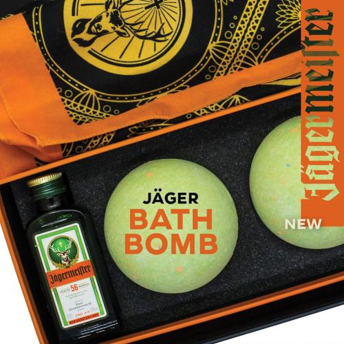 Jägermeister Bath Bombs Are Now A Thing & We're Not Sure How We Feel About It!