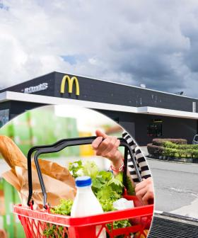 You Can Now Buy Milk And Bread From Your Local McDonald's Drive-Thru
