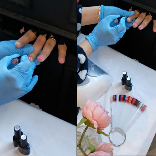 Nail Tech Has Us Laughing As She Attempts Manicure Through Letterbox