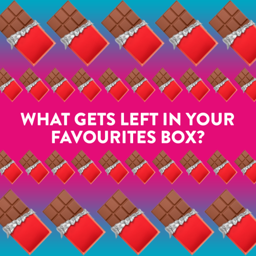 What Gets Left In Your Favourites Box? 🍫