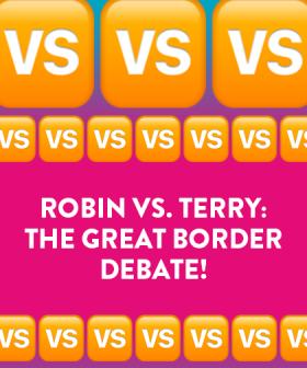Robin VS. Terry: The Great Border Debate!