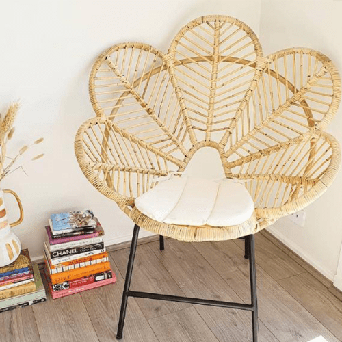 People Have Gone Mad For This Gorgeous $159 Rattan Chair From Bunnings