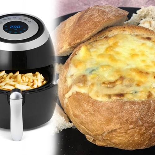 People Are Now Using Their Air Fryers To Create Cheese & Bacon Cob Loaves And Lord Have Mercy