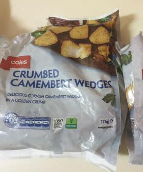 Coles Is Selling Crumbed Camembert Wedges For $5 & I'm About To Panic Buy
